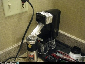 coffee electricity error
