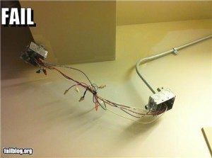 electrician fail knots