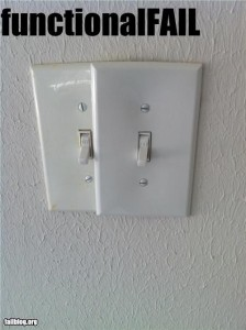 light switch fail
